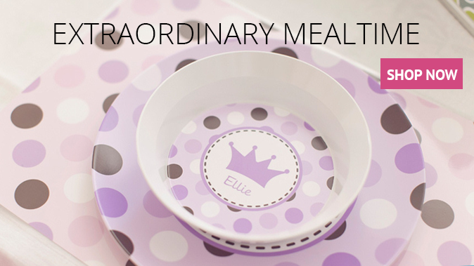 Personalized mealtime products - shop now
